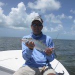 Chris with a Marquesas Bonefish