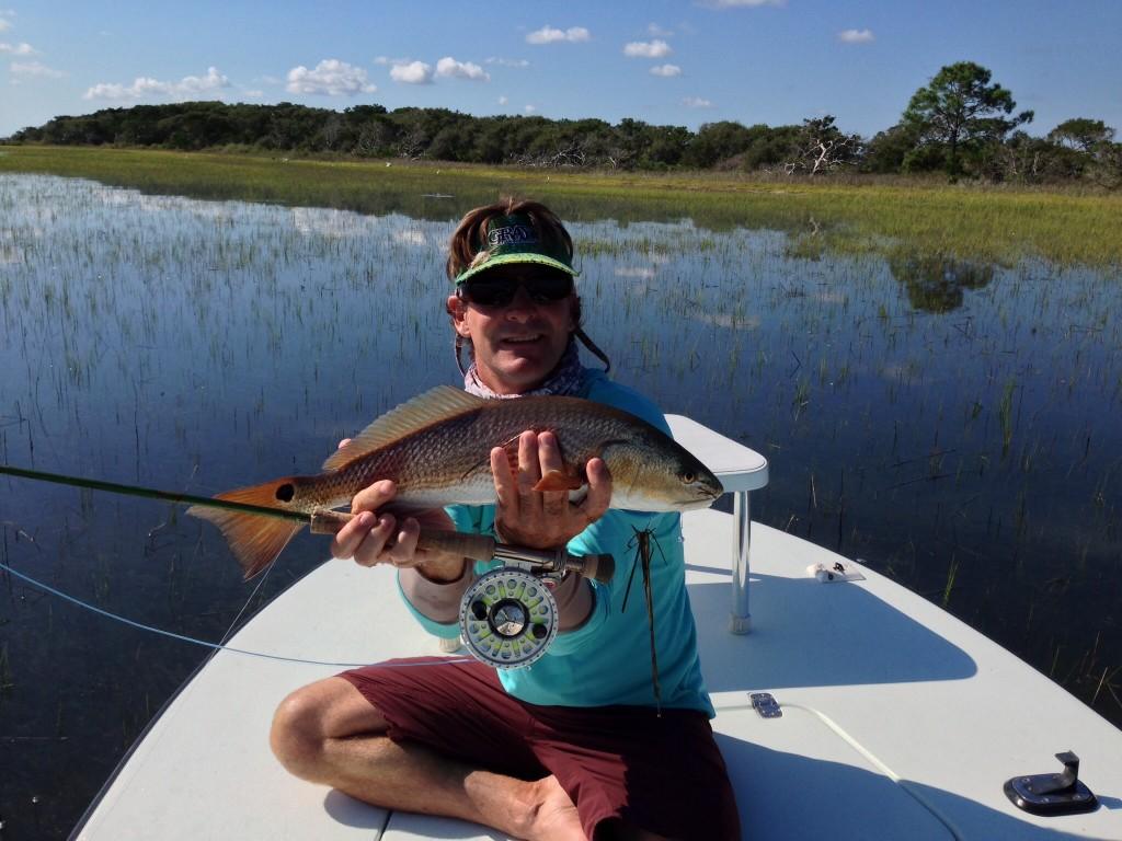 Redfish with Warren